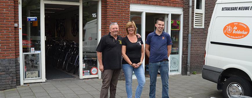 Fietsenwinkel De Bolderkar Eindhoven